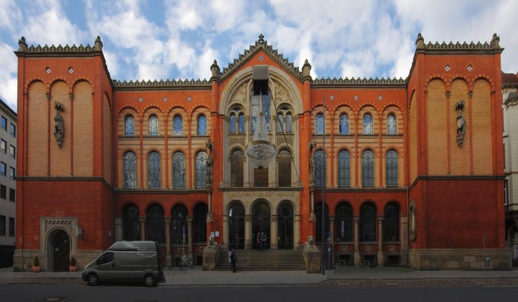 Das Künstlerhaus in der Sophienstraße, Hannover. Sitz der Stiftung Niedersachsen.